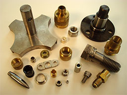 Assorted machined parts